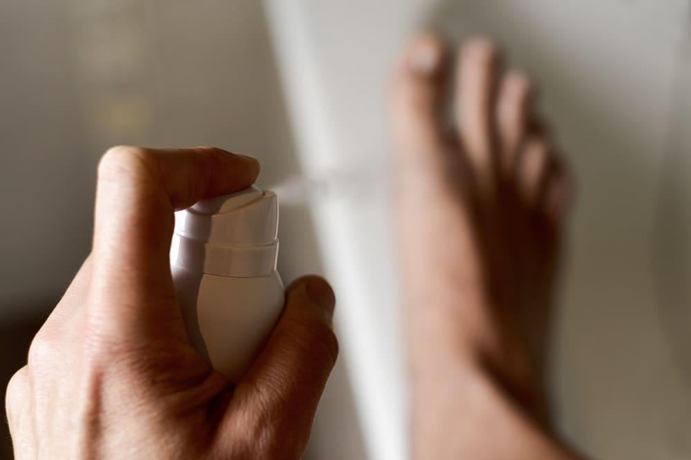 Antyperspirant do stóp