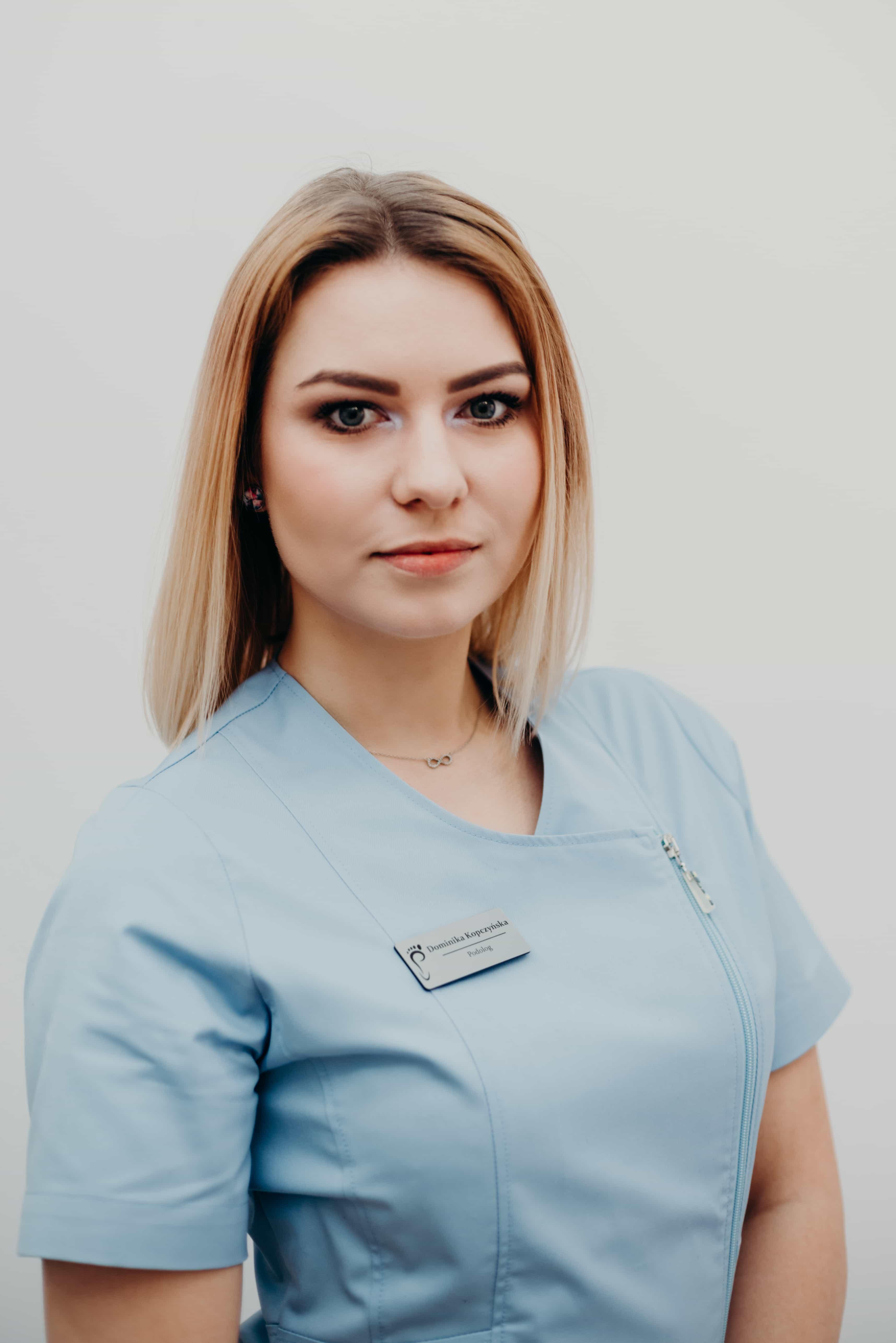 Specjalista-podolog mgr Dominika Kopczyńska