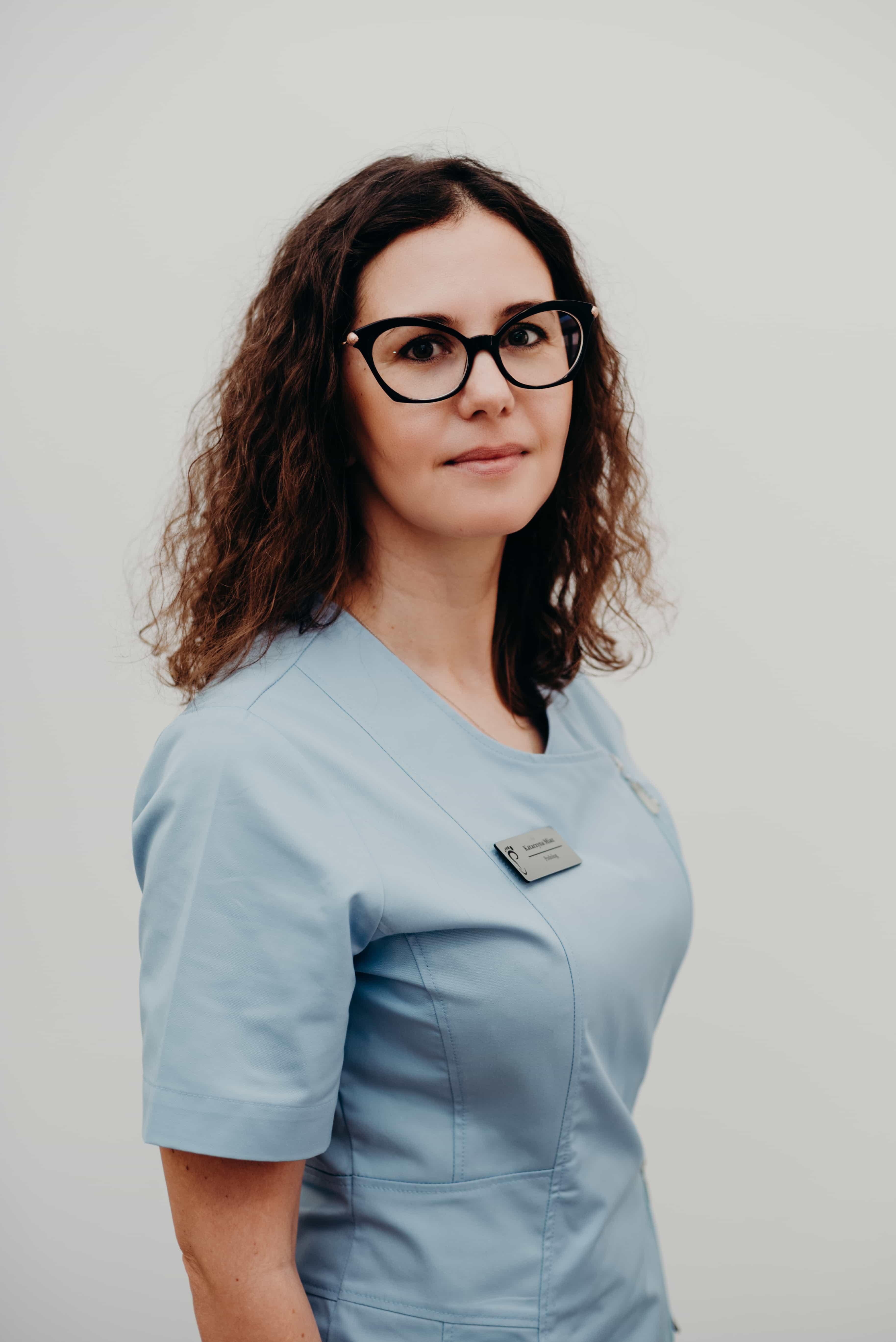 Założycielka gabinetu Pani mgr Katarzyna Miaz